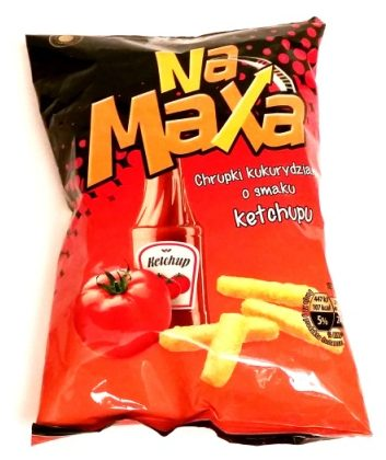 Fifor, Na Maxa chrupki kukurydziane o smaku ketchupu (1)