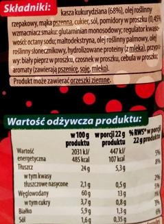 Fifor, Na Maxa chrupki kukurydziane o smaku ketchupu (2)
