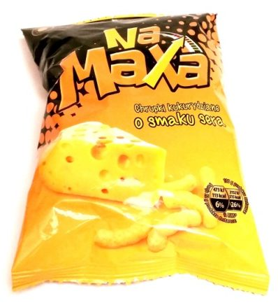 Fifor, Na Maxa chrupki kukurydziane o smaku sera (1)