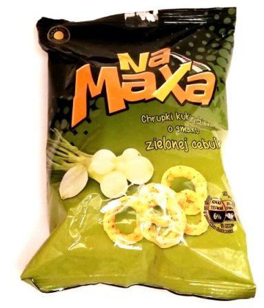 Fifor, Na Maxa chrupki kukurydziane o smaku zielonej cebulki (1)