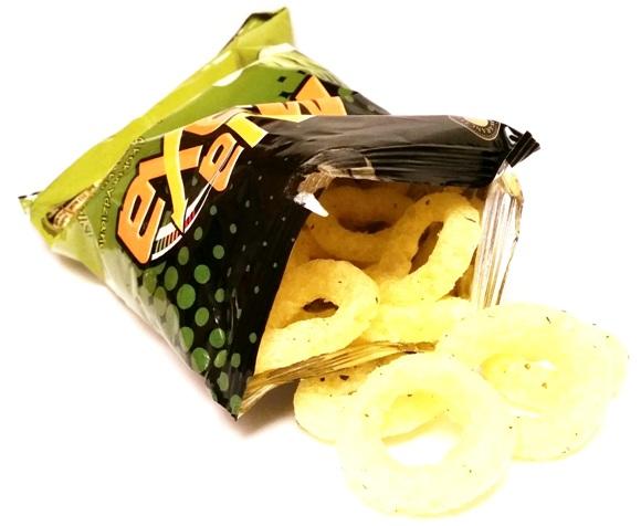 Fifor, Na Maxa chrupki kukurydziane o smaku zielonej cebulki (3)