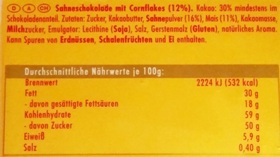 Ritter Sport, Knusperflakes (2)
