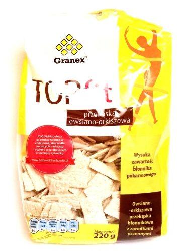 Granex, TOP fit przekaska owsiano-orkiszowa (1)