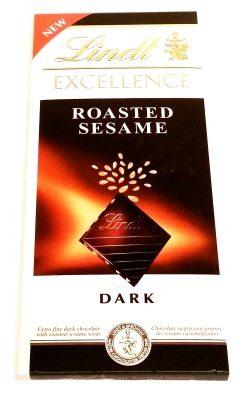 Lindt, EXCELLENCE Dark Roasted Sesame (1)