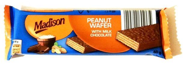 Madison, Peanut Wafer with milk chocolate (2)