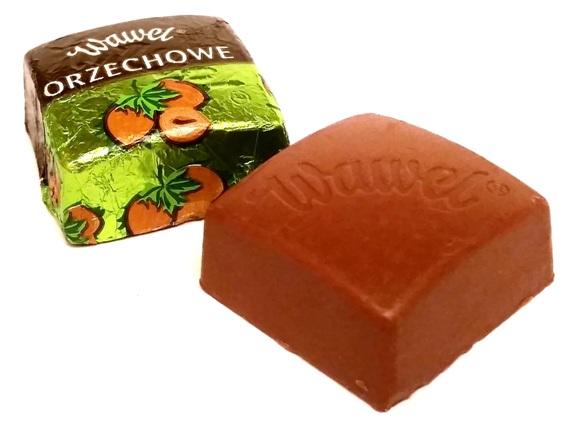 Wawel, czekoladki Orzechowe (2)