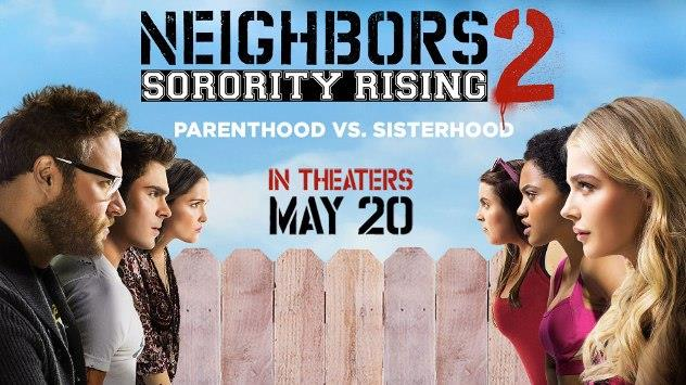 5 najgorszych filmów Neighbors 2 Sorority Rising 2016