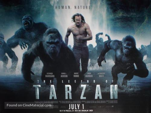 5 najgorszych filmów The Legend of Tarzan 2016