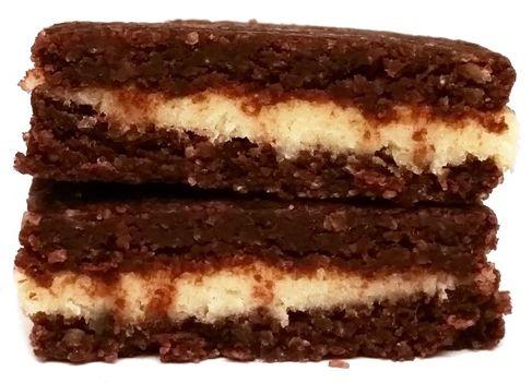 Legal Cakes, Baton proteinowy kakaowy L'Oreo z kremem kokosowym, copyright Olga Kublik