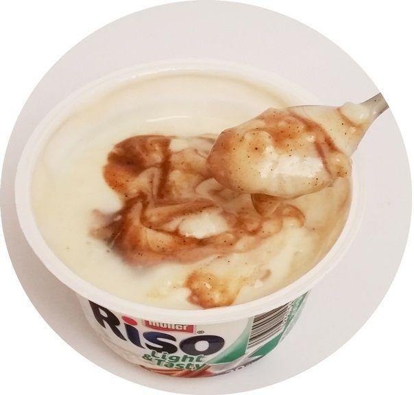 Muller, Riso Light & Tasty Cynamon, niskokaloryczny ryż na mleku z cynamonem, copyright Olga Kublik