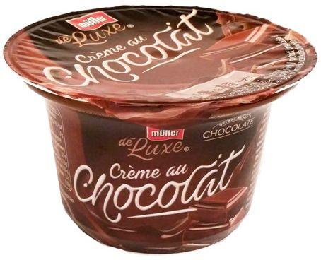 Muller, deser mleczny de Luxe Creme au Chocolat czekolada, copyright Olga Kublik