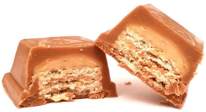 Nestle, Kit Kat Hazelnut, baton z waflem i kremem orzechowym w mlecznej czekoladzie, copyright Olga Kublik