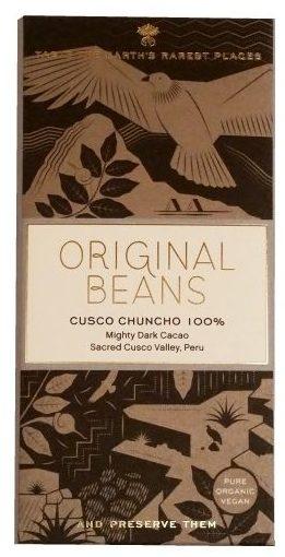 Original Beans, Cusco Chuncho 100 procent, ciemna gorzka czekolada, copyright Olga Kublik