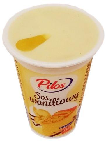 Pilos, jogurt Sos waniliowy, copyright Olga Kublik