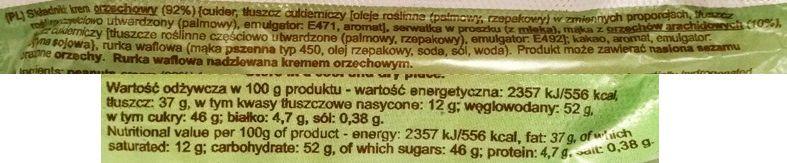 Polska Krówka, baton Sękacz orzechowy - z kremem fistaszkowym - copyright Olga Kublik