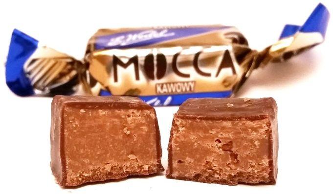 Wedel, cukierek Mocca z nadzieniem kawowym w czekoladzie, Mieszanka Wedlowska, copyright Olga Kublik