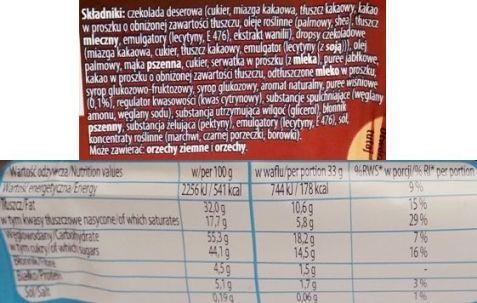 Nestle, Princessa Special Edition Dark Cherry, wafel z wiśniami i dropsami czekoladowymi oblany deserową czekoladą, copyright Olga Kublik