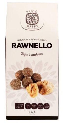 Raw and Happy, Rawnello Figa z makiem, zdrowe beglutenowe słodycze dla wegan, raw food, copyright Olga Kublik