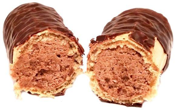 Wisła, Sękacz orzechowy, baton z kremem w polewie czekoladowej, słodycze z XX wieku, copyright Olga Kublik