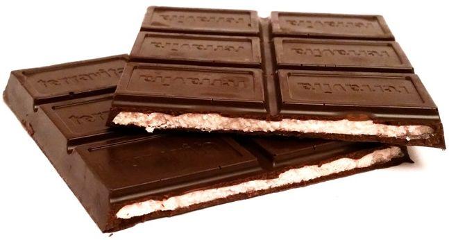 Terravita, 70% cocoa czekolada nadziewana wiśniowa, gorzka czekolada z kremem wiśniowym, copyright Olga Kublik