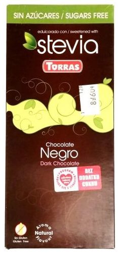Torras, Stevia Chocolate Negro, ciemna czekolada ze stewią, copyright Olga Kublik