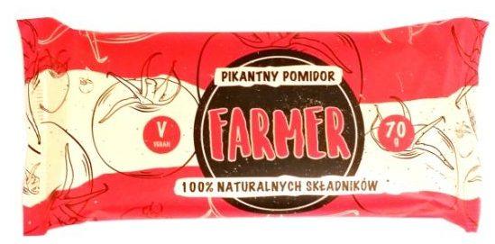 Zmiany Zmiany, Farmer pikantny pomidor, wegański raw bar bez glutenu, copyright Olga Kublik