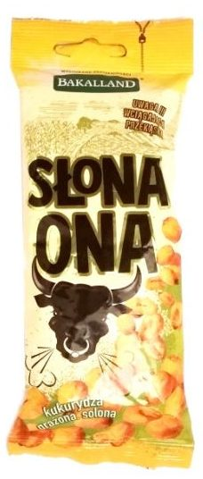 Bakalland, Słona Ona, prażona kukurydza z solą, copyright Olga Kublik