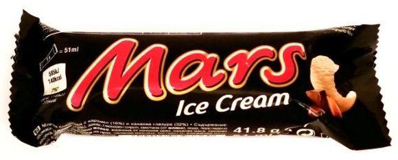 Mars, Mars Ice Cream, baton lodowy z karmelem, copyright Olga Kublik