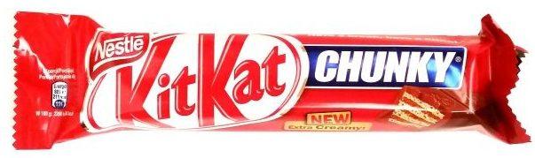 Nestle, Kit Kat Chunky, baton z waflem kakaowym w mlecznej czekoladzie, copyright Olga Kublik