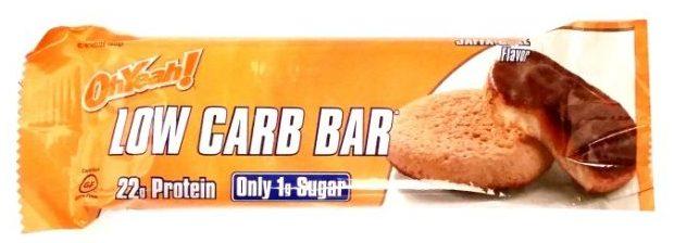 OhYeah!, Low Carb Bar Jaffa Cake Flavor, baton proteinowy light dla osób ćwiczących, copyright Olga Kublik