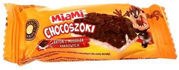 Otmuchów, batony z płatków do mleka Miami Chocoszoki, copyright Olga Kublik