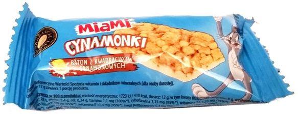 Otmuchów, batony z płatków do mleka Miami Cynamonki, copyright Olga Kublik