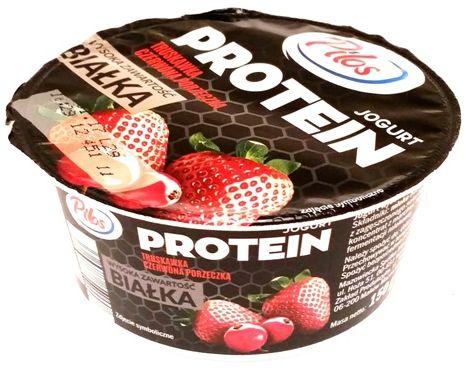 Pilos, Jogurt PROTEIN: truskawka czerwona porzeczka, copyright Olga Kublik