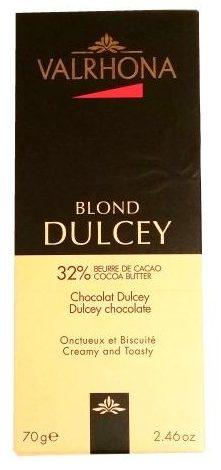 Valrhona, Dulcey Blond, biała czekolada waniliowa, copyright Olga Kublik