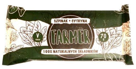 Zmiany Zmiany, Farmer szpinak + cytryna, wegański raw bar bez glutenu, copyright Olga Kublik