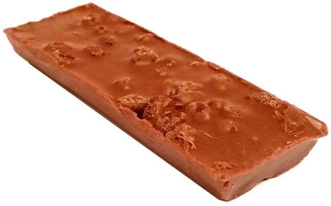 Kandit, Kandi Crunch Brunch Milky, baton z kakaowymi zbożowymi chrupkami w mlecznej czekoladzie, copyright Olga Kublik