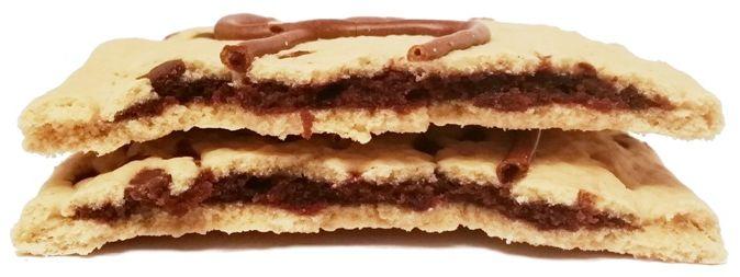 Kellogg's, Pop Tarts Frosted Chocolate Chip, tosty z Ameryki, ciastka z nadzieniem czekoladowym i lukrem, copyright Olga Kublik