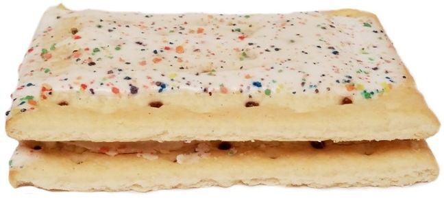 Kellogg's, Pop Tarts Frosted Blueberry, amerykańskie ciastka tosty z lukrem, copyright Olga Kublik