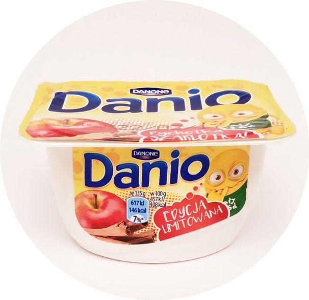 Danone, Danio, serek homogenizowany o smaku pieczonego jabłka, copyright Olga Kublik