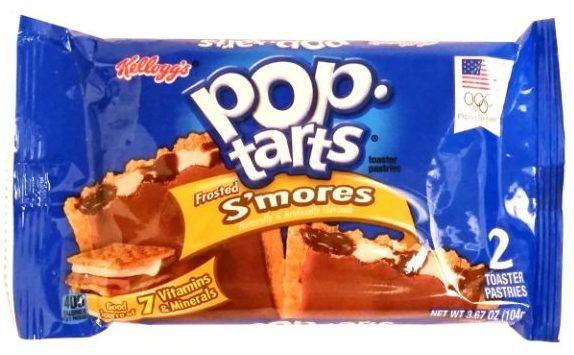 Kellogg's, Pop Tarts Frosted S'mores, amerykańskie tosty z nadzieniem o smaku pianek marshmallow i czekolady, copyright Olga Kublik