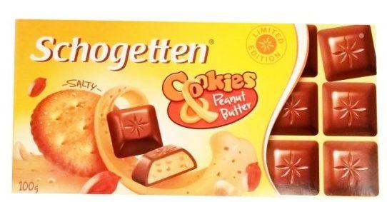 Ludwig Schokolade, Schogetten Peanut Butter, mleczna czekolada z masłem orzechowym i solonymi krakersami, copyright Olga Kublik