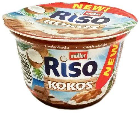 Muller, Riso Kokos czekolada, tropikalny ryż na mleku, copyright Olga Kublik