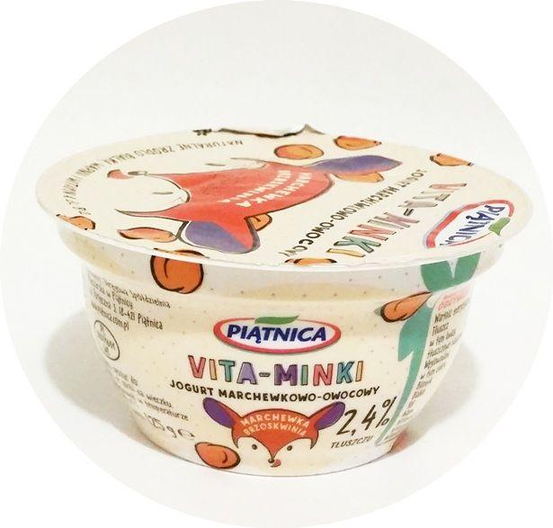 Piątnica, Vita-Minki: marchewka brzoskwinia, jogurt dla dzieci, copyright Olga Kublik