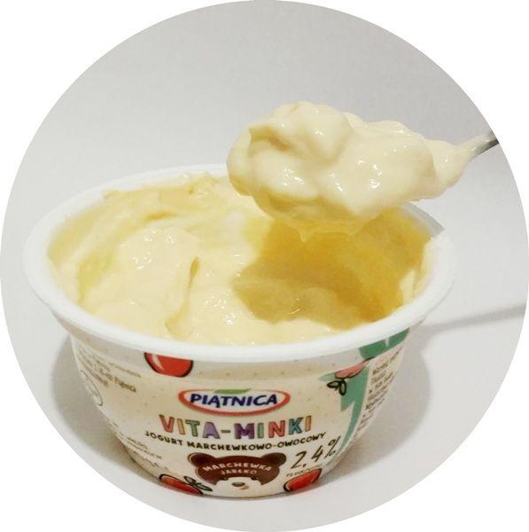 Piątnica, Vita-Minki: marchewka jabłko, jogurt dla dzieci, copyright Olga Kublik
