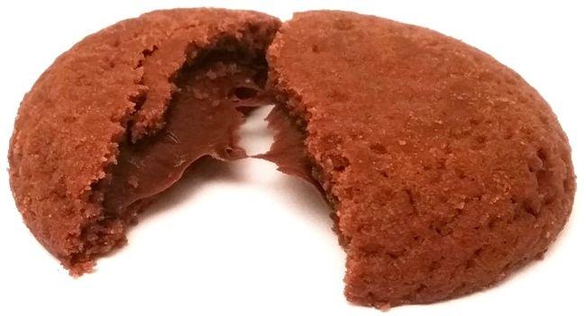 Tastino, Carlo Creme z kremem czekoladowym, ciastka z gęstym kremem z Lidla, copyright Olga Kublik