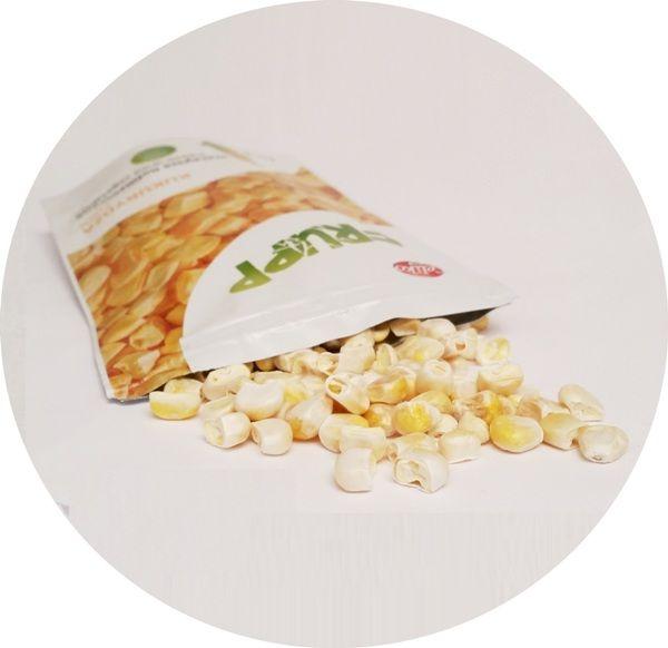 Celiko, Frupp liofilizowana kukurydza, zdrowa wegańska przekąska, copyright Olga Kublik