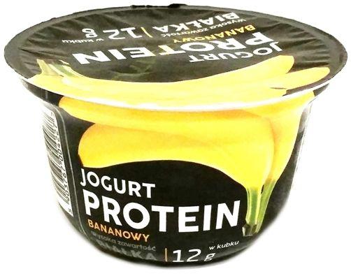 Lactalis Polska, Jogurt PROTEIN proteinowy bananowy, copyright Olga Kublik