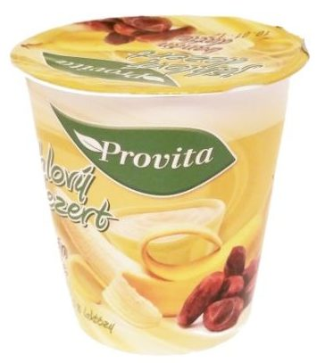 Provita, Jahlovy dezert banan datle 0 % laktozy, wegański deser jaglany z bananów i daktyli, copyright Olga Kublik