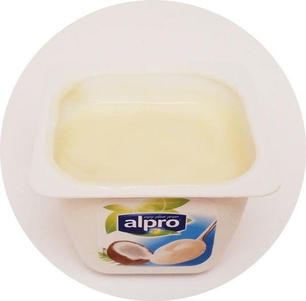 Alpro, Classic Coconut, deser sojowy bez glutenu o smaku kokosa, copyright Olga Kublik