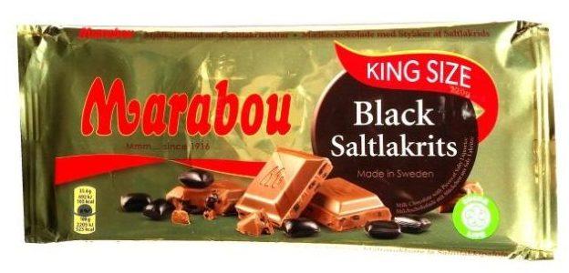Marabou, Black Saltlakrits, chorwacka mleczna czekolada ze słoną lukrecją, copyright Olga Kublik